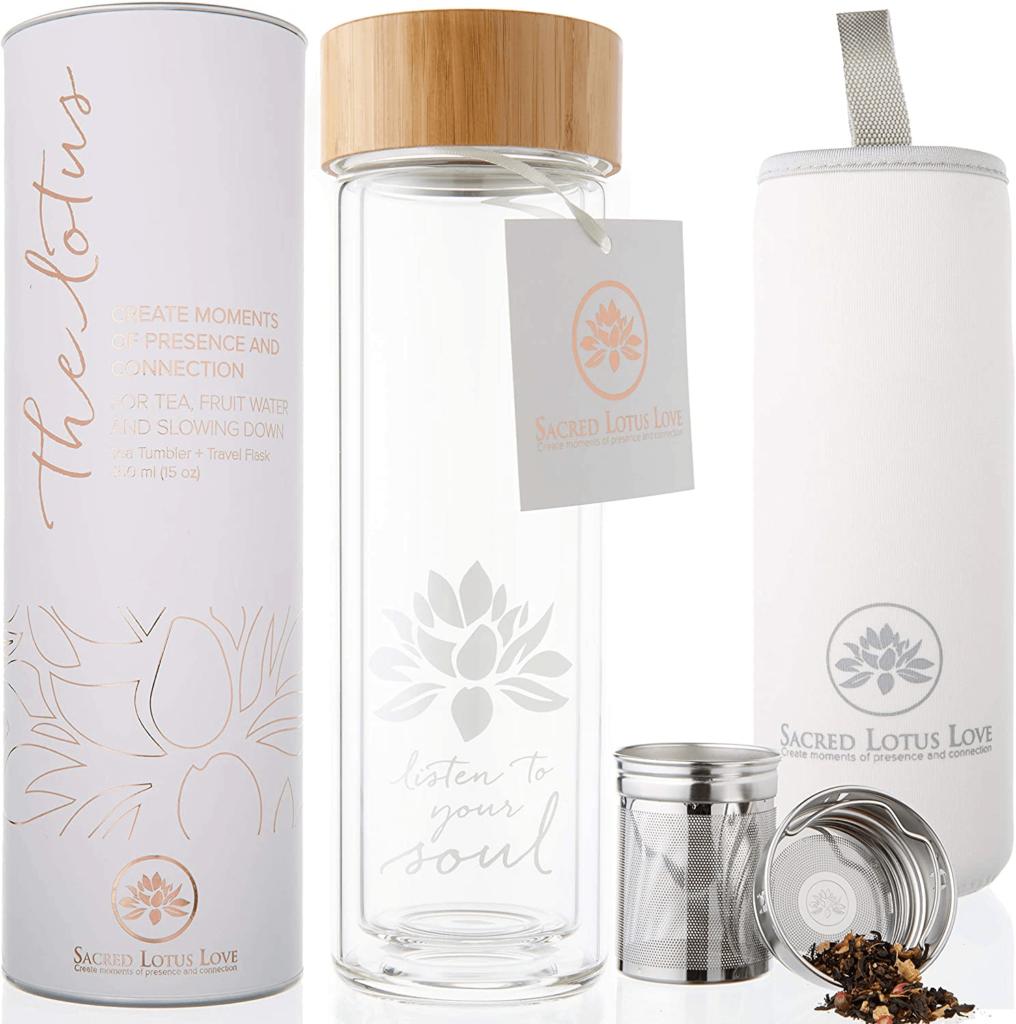 Pure Zen Tea Tumbler with Infuser