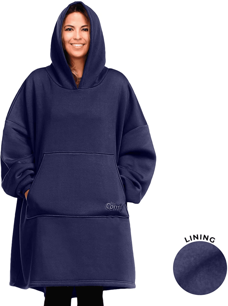 The Comfy Wearable Sherpa Blanket