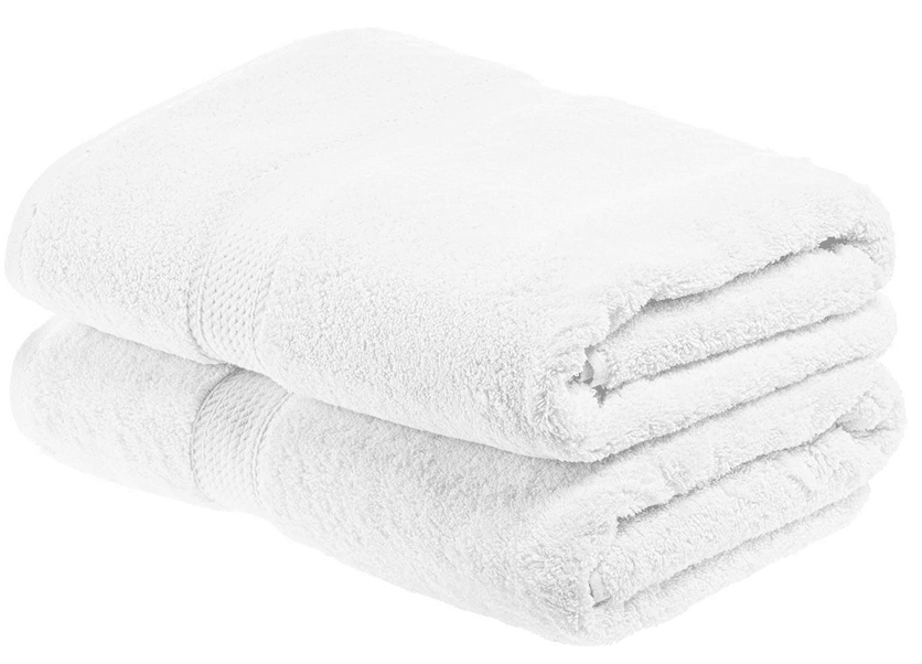 Superior 900 GSM Luxury Bathroom Towels, Set of 2