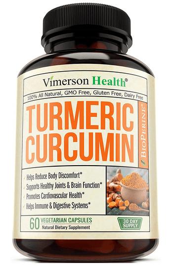 Turmeric Curcumin with Bioperine - Vimerson Health