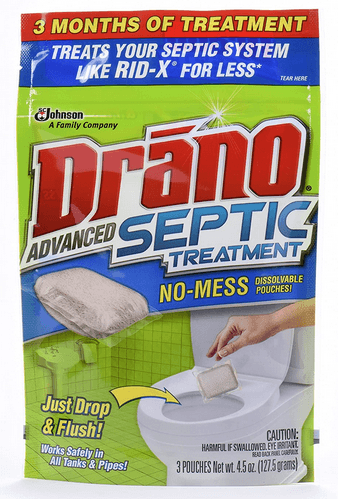 Drano Advanced Septic Treatment