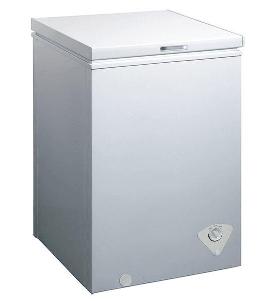 Midea WHS-79C1 Single Door Chest Freezer, 3.5 Cubic Feet